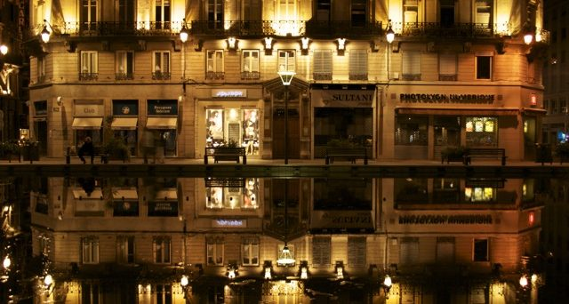 Lyon by night - Photo Louis Hetroy