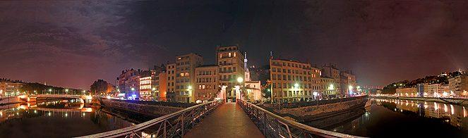 Saone pass. st Vincent nuit - Denis Choblet