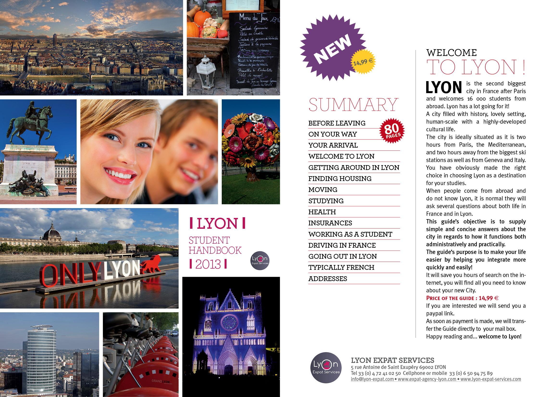 Guide pour tudiant tranger lyon expat agency lyon - Chambre pour etudiant etranger ...